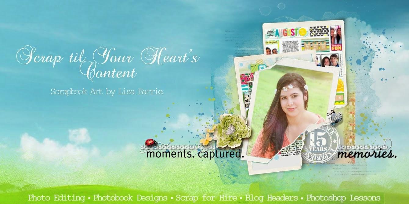 Scrap til your heart's content