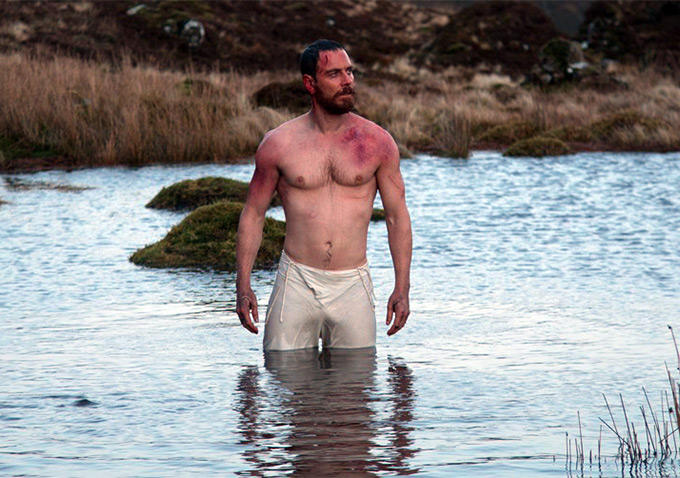 Image result for michael fassbender body