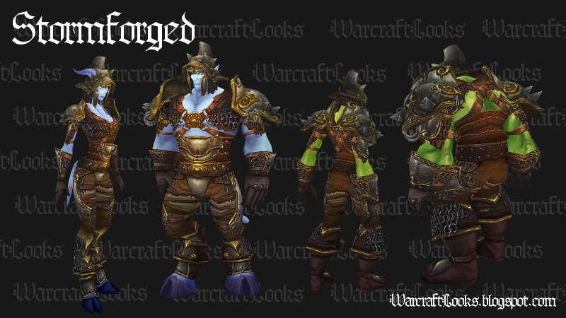 Stormforged Set - Plate (Click to Enlarge)  sc 1 st  Warcraft Looks & Warcraft Looks: Great Looking Uncommon Plate Sets