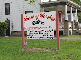 Biker Friendly Church.