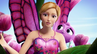 Wallppaer cantik Barbie Mariposa