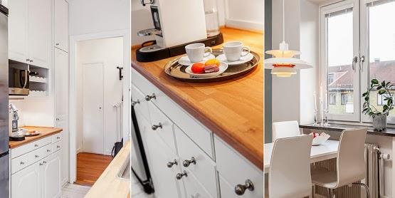 amenajari, interioare, decoratiuni, decor, design interior, stil scandinav, apartament 2 camere, spatii mici, bucatarie