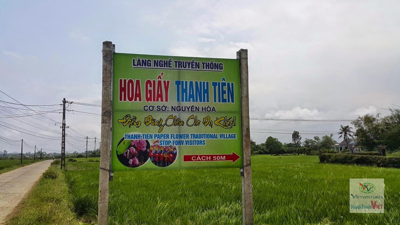 Tham quan làng Hoa Giấy Thanh Tiên