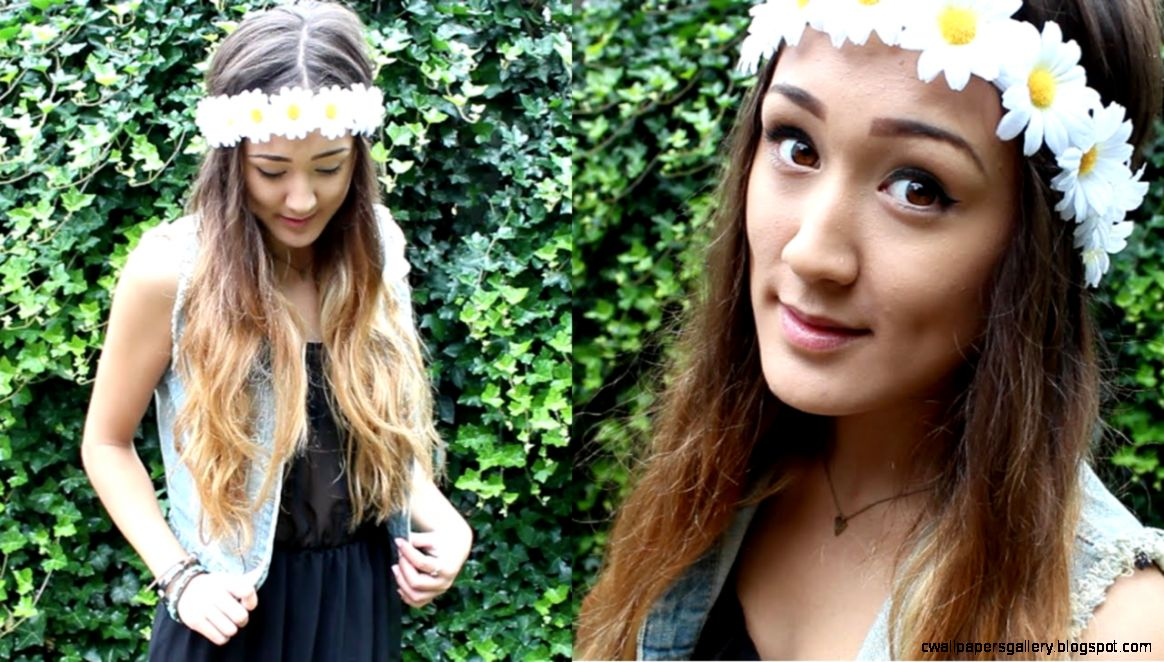 DIY Daisy Flower Crown   YouTube