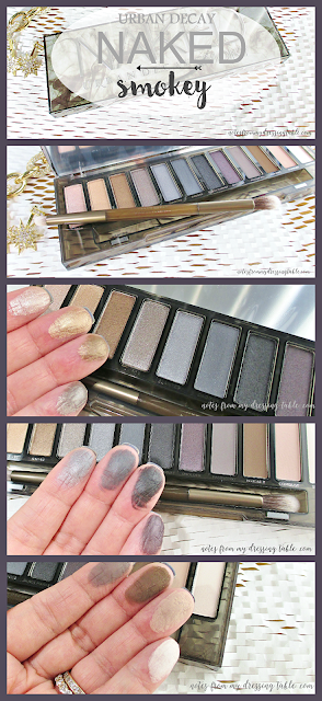 Urban Decay NAKED Smokey Palette | My Notes notesfrommydressingtable.com