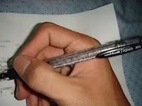 pulpen, pena, menempel, hasil