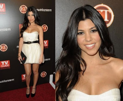 Kourtney Kardashian Hair