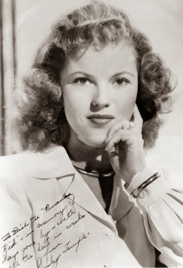 Shirley Temple en la adultez
