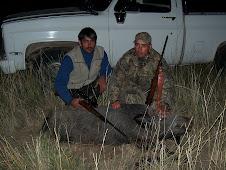 Daniel Machado con su Suegro, De James Craik. Caceria Excepcional En la Pampa.