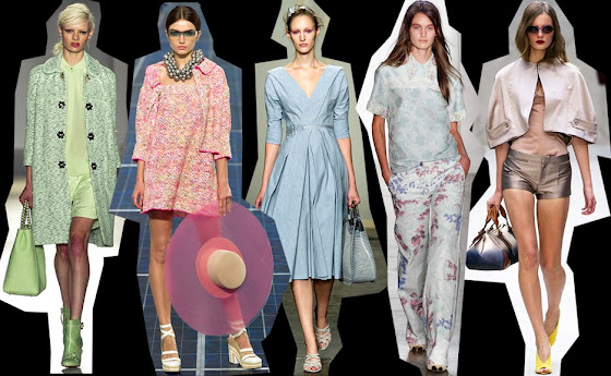 2013 Fashion Trends Cotton Candy Colors