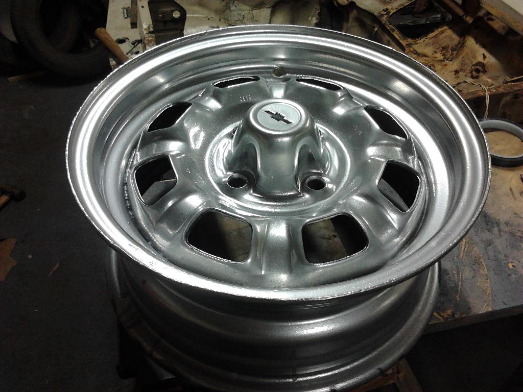 Restaurando e modernizando chevette 76 pintura alum nio - Pintura de aluminio ...
