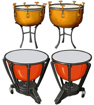 ティンパニ Timpani / ケトルドラム Kettledrum