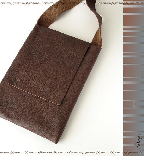 The Handmade Leather iPad Bag