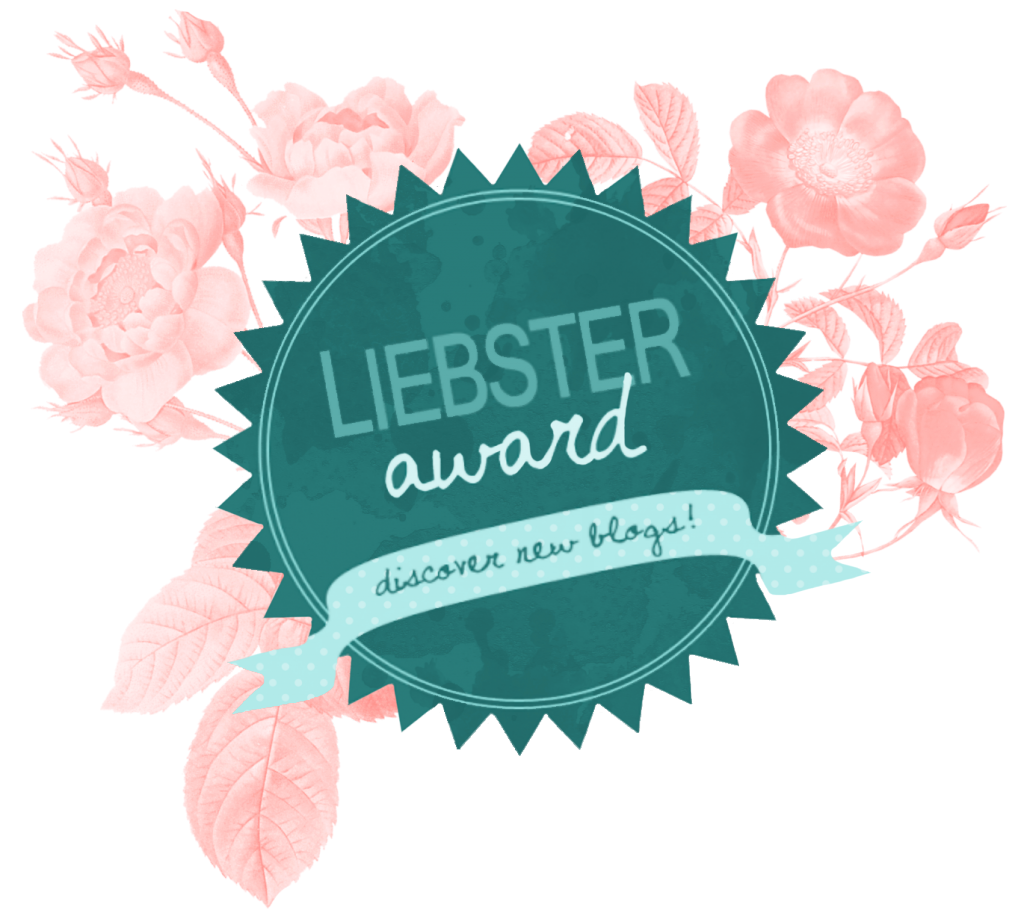 Proud Recipient of the Liebster Award
