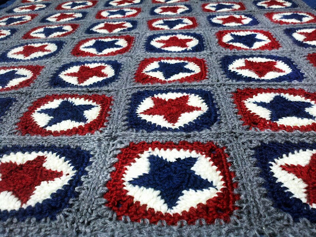 this all star crocheted blanket can be found at   sweetmamu blogspot