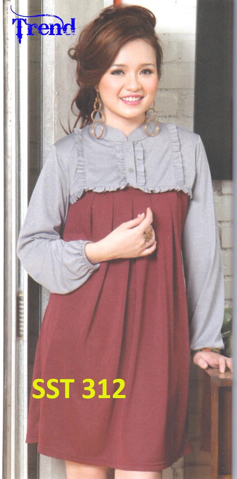 Baju 99: BAJU TUNIK WANITA SST-312 - Butik - toko - online - Baju ...