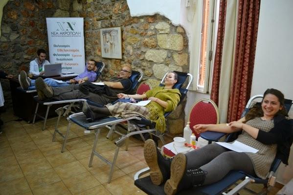 Αιμοδοσία – Ζήσε την εμπειρία της προσφοράς - ΝΕΑ ΑΚΡΟΠΟΛΗ