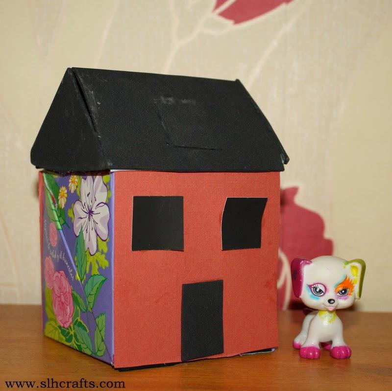 Box Crafts Cardboard House