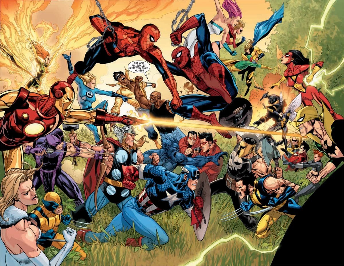 Marvel Comic Heroes