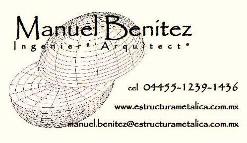 Ing Arq Manuel Benitez