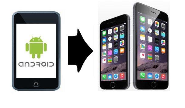 نقل البيانات من هاتف أندرويد إلى هاتف #آيفون