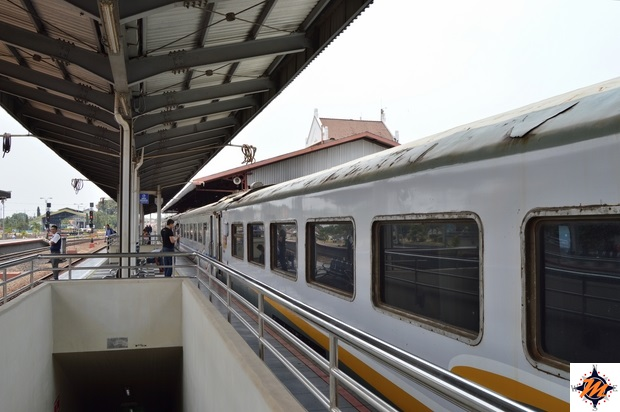 Treno Giacarta-Yogyakarta. Classe executive
