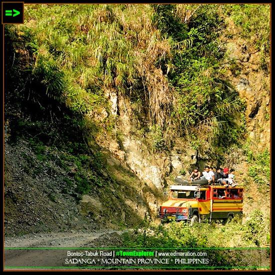 Bontoc-Tabuk Road