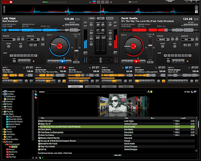 Atomix Virtual DJ Pro 7 Screenshot