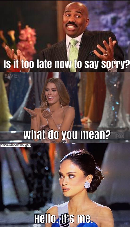 miss universe 2015 funny internet memes