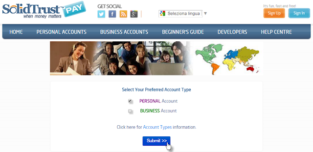 Cómo crear una cuenta en SolidTrusPay (STP)