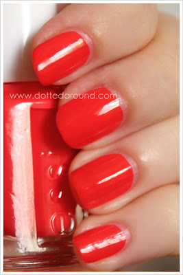 Essie Spring 2012 Ole Caliente swatches nail polish swatch smalto