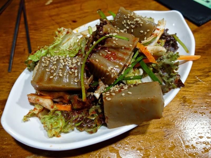 Ewha University Summer Studies Travel Seoul lunarrive singapore Acorn Jelly sinchon