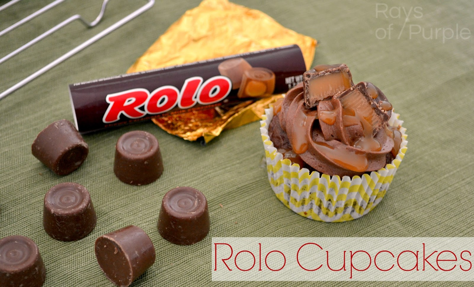Rolo Cupcakes!