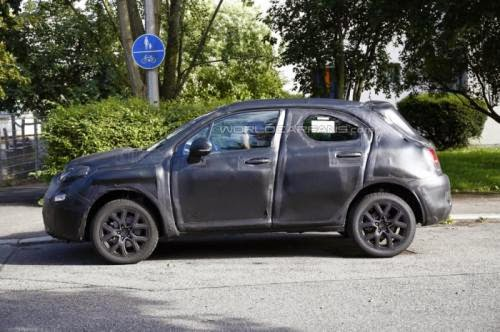 2015 Fiat 500X Casus Resimler