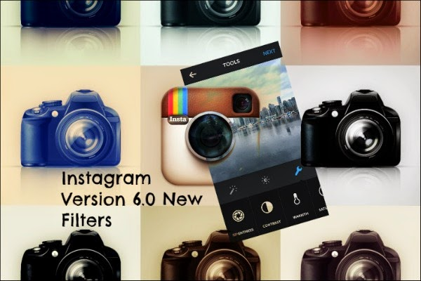 the 10 new instagram filters in instagram latest version 6.0 via instagramfanatic.blogspot.com instablog