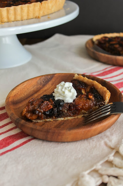 Fall Dried Fruit Tart | The Chef Next Door #CADriedPlums