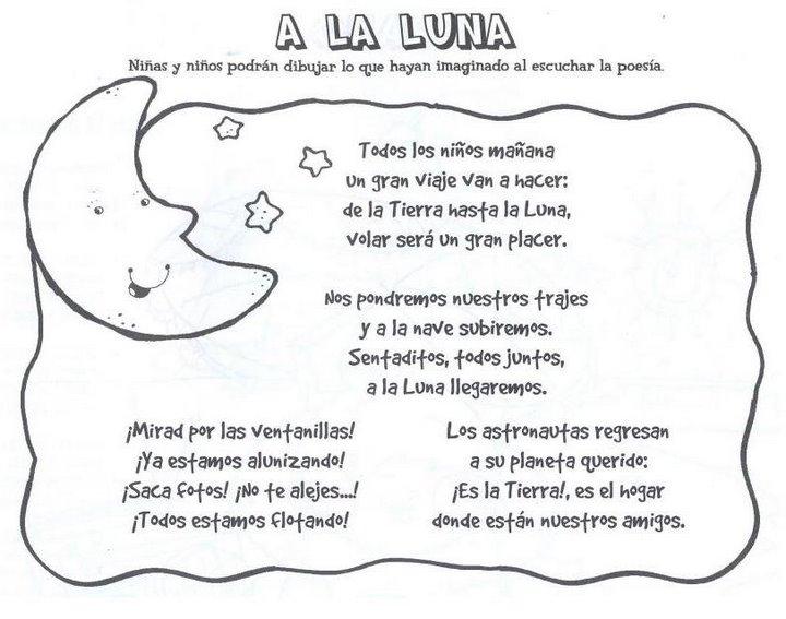 Poemas Para Ninos Sobre La Luna