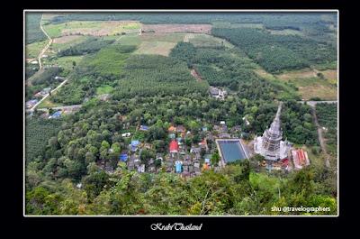 krabi, tiger caves, wat tham sua, karst, temple, thailand, phuket, asean, asia, south east asia, backpacking, travel