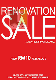 Nichii Renovation Sale 2013