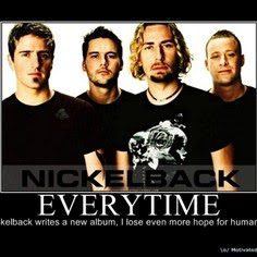 Detroit Fans Start Online Petition to Replace Nickelback as the Halftime Show for the Lion's Thanksgiving Game