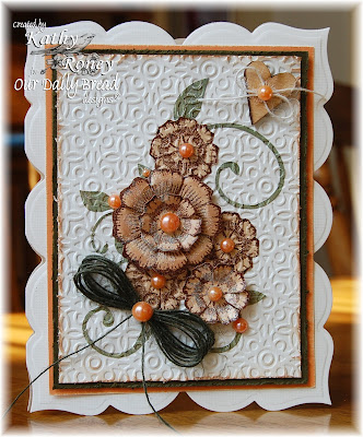 Our Daily Bread Designs, Sweet William Mini Set, Spellbinders Blossom 3 Dies