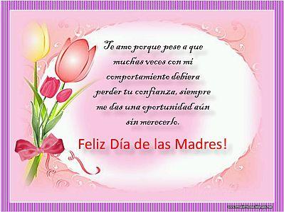 feliz dia de la madre 2014