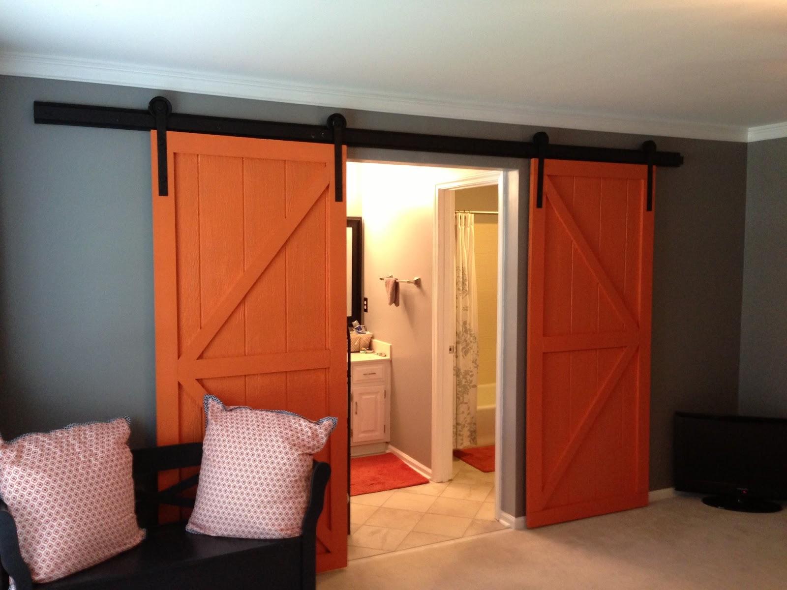 wilker do 39 s diy sliding barn door. Black Bedroom Furniture Sets. Home Design Ideas