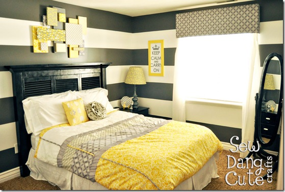 Black White And Yellow Bedroom Ideas 3 Simple Decorating Design