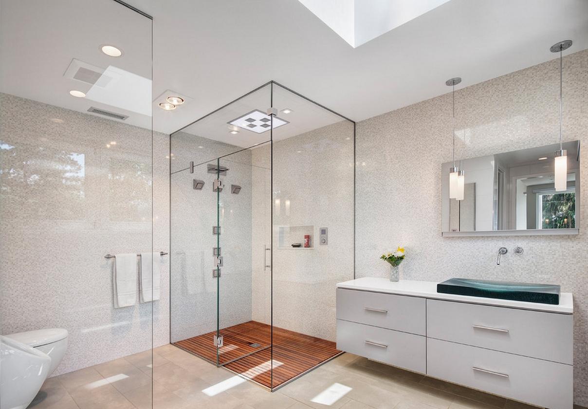 Contemporary Showers Bathrooms Contemporary Bathroom Showers