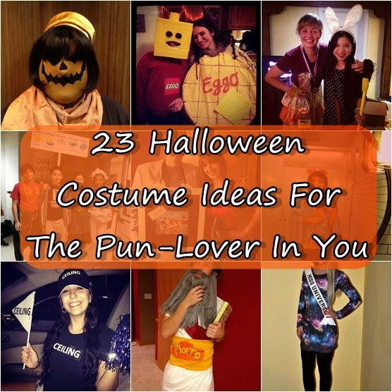 23 Halloween Costume Ideas For The Pun-Lover In You