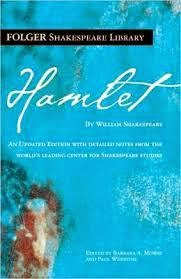 theatrical play Hamlet cover