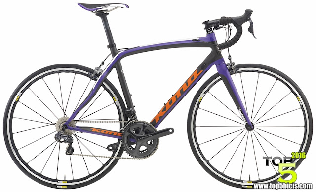 Kona ZING CR, una bici rápida y ligera