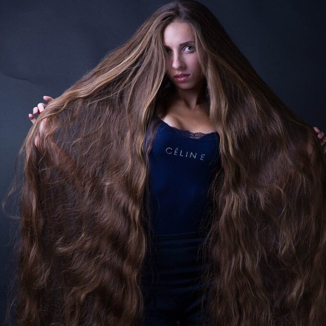 girls with very long hair february 2014