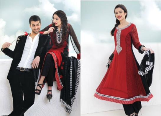 Latest REET Valentine Collection 2012 For Girls | Valentine Dresses 2012-13